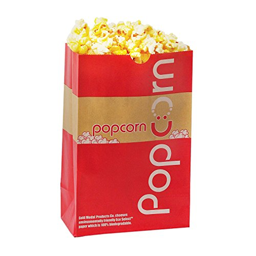 Gold Medal Eco-Select Popcorn Bags, 85 oz. (500 ct.) by MegaDeal