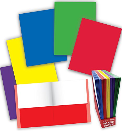 New Two Pocket Portfolios - New Generation Twin Pocket Portfolio/Folder Heavyweight Paper Folder