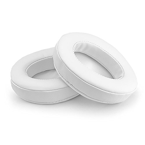 Brainwavz Replacement Memory Foam Earpads for Large Over the Ear Headphones, White