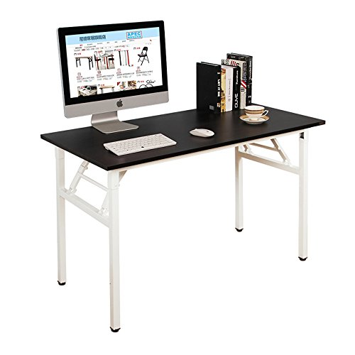 Need Computer Desk Office Desk 47'' Folding Table with BIFMA Certification Computer Table Workstation, AC5CW-120 by Need