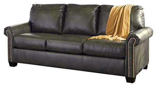 Ashley Furniture Signature Design - Lottie Sleeper Sofa - Queen Size - Slate