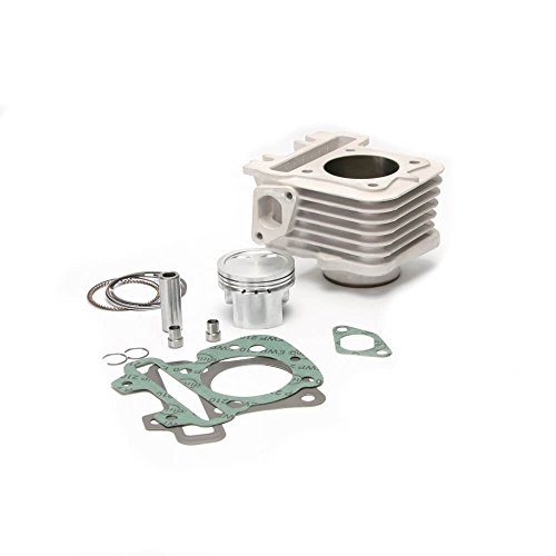 Malossi Cylinder (Pitmoto - M 3111576 - Cylinder - Malossi Cylinder Kit (Alloy 80cc); Vespa 50 4T 2V & 4V)