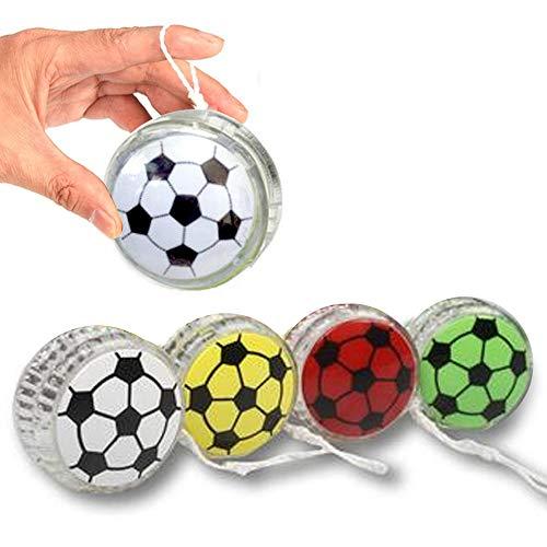 - 2 X Yo Yo Sports YoYo Soccer Ball Party Favor Toy Children Kid Fun Boys Gifts