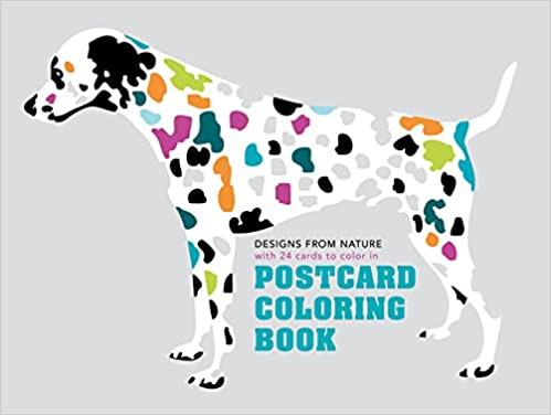 Postcard Coloring Book Designs From Nature With 24 Cards To Color In Colouring Books Maisonette 9781849942874 Amazon