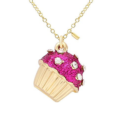 - MANZHEN 12 Colors Cupcake Crystal Enamel Pendant Necklace in Elegant Gift Box (8)