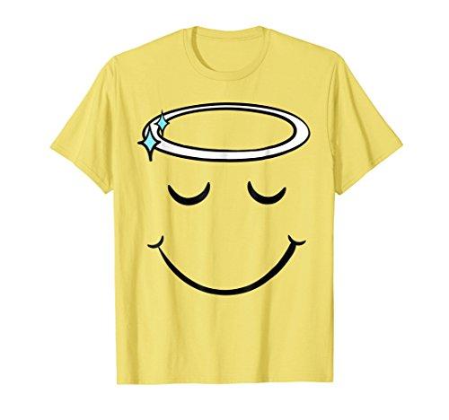 Cute Emoji Face Funny Yellow Halloween Group Costume