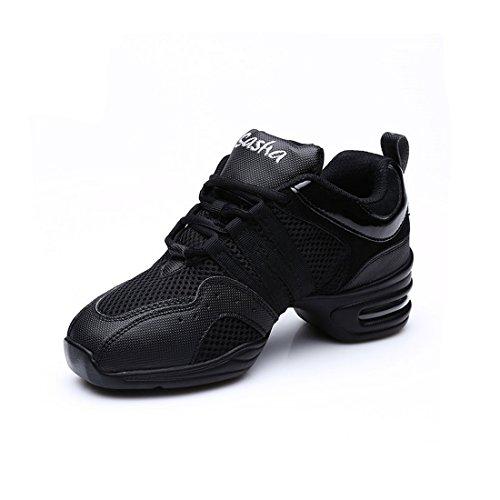 MQ - Zapatillas de danza para niña dorado dorado 34 EU negro