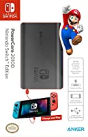 [Power Delivery] Anker PowerCore 20100 Nintendo Switch Edition, The Official 20100mAh Portable Charger for Nintendo Switch, for use with iPhone X/8, MacBook Pro, and More