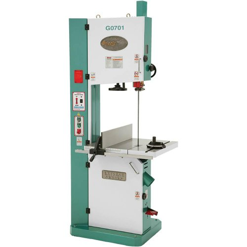 Grizzly G0701 Ultimate Bandsaw, 19-Inch Review