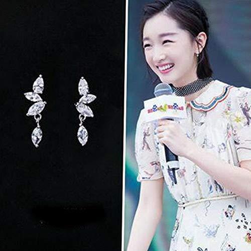 Campton 1 Pair Fashion Women Lady Elegant Crystal Rhinestone Ear Stud Earrings Charms | Model ERRNGS - 803 |