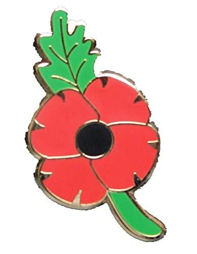 Maple2009limitée Remembrance Sunday Rouge Motif Fleur de Coquelicot en émail Broche