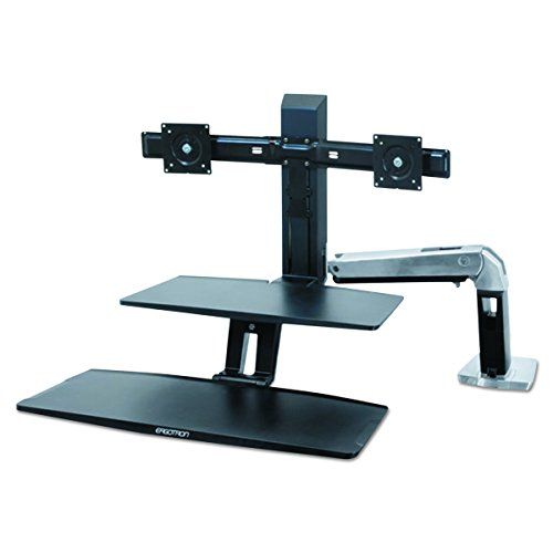 Ergotron WorkFit-A with Suspended Keyboard,