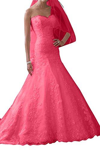 Wassermelon Ballkleider Langes Braut La Abendkleider Hochzeitskleider Traumhaft mia Festlichkleider Partykleider Etuikleider Brautkleider 4qaPawxX
