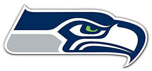 NFL Seattle Seahawks Vinyl Magnet 10 x 10in by BSI