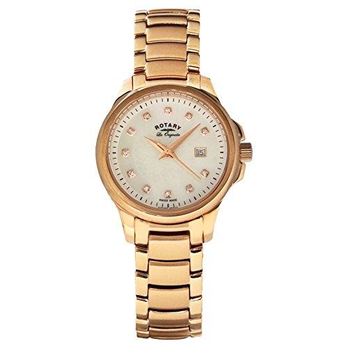 Rotary LB90120-41 Ladies Les Originales Primrose Rose Gold Watch