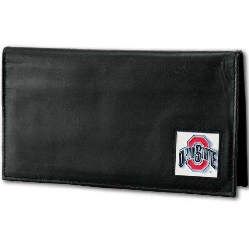 NCAA Ohio State Buckeyes Deluxe Leather Checkbook Cover