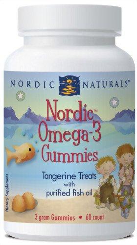Nordic Naturals Omega-3 nordiques Gummies (60 gummies)