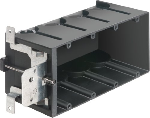 Arlington Industries FA104 4-Gang Adjustable Outlet Mount Box, 10-Pack by Arlington Industries