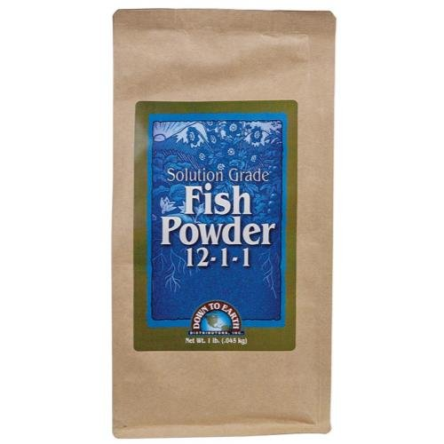 Down To Earth Fish Powder 1 lb (6 Cs)