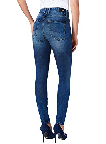 Regent Jeans Pepe Mujer Jeans Negro Azul 80OqvOg