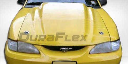 Brightt Duraflex ED-QKO-084 3 Cowl Hood Compatible With Mustang 1994-1998 1 Piece Body Kit