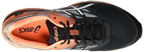 Asics Gel-Cumulus 18 G-Tx, Zapatillas De Entrenamiento para Hombre Negro (Black/silver/hot Orange)