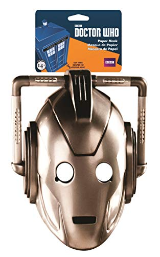 elope Doctor Who Cyberman Paper Mask -