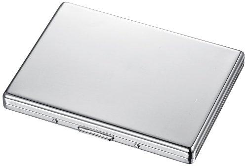 Visol Netez Polished Chrome Cigarette Case (Case Sided Cigarette Single)