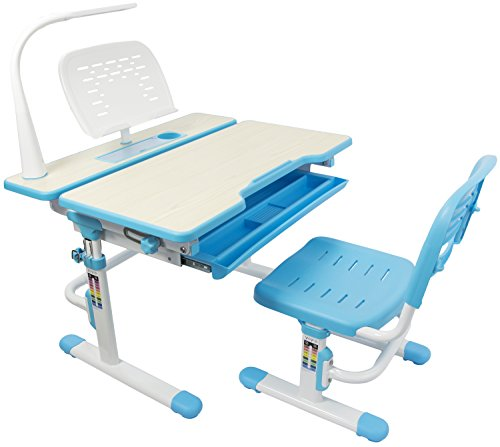 deluxe adjustable children desk chair