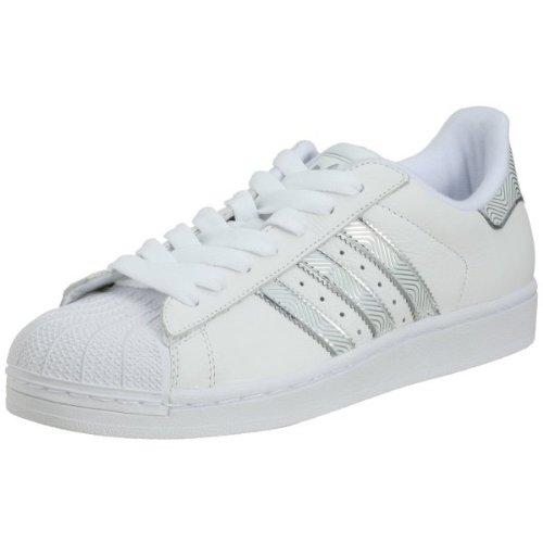 adidas superstar schuhe weiß silber