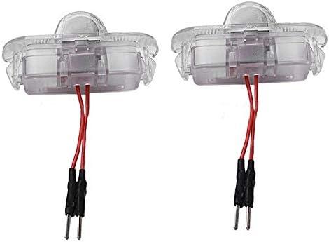 MIAOHAO Lumi/ères de projecteur de Logo de Voiture 4 x Projecteur Porte Ombre Glow Ampoules Fant/ôme Courtoisie Logo Floor Emblem Lampes Kit for Jaguar XJL XFL F-Type