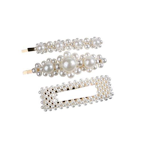 Pearl hairpin artificial hand-made beautiful hair accessories holiday gifts temperament hairpin bridal tiara hairpin MEEYA