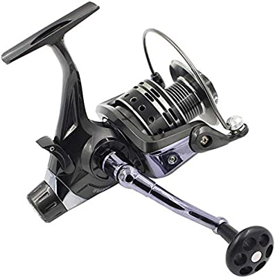 Carretes de spinning de pesca 3000-6000 Carrete de descarga doble ...