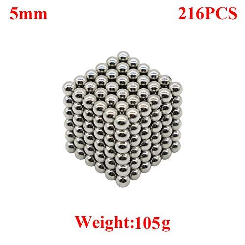 aBrilliantLife Magnetic Balls (5mm 216pcs Sliver) by aBrilliantLife