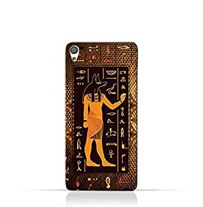 Sony Xperia XA1 Plus Compact TPU Silicone Case with Egyptian Hieroglyphs Pattern