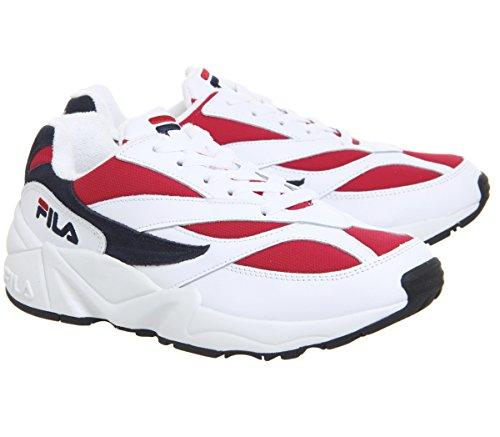 Blu Wmn Sneakers 1010291 Bianco Venom Rosso Low 39 Fila Bianco 150 qYaAyw