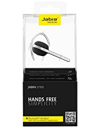 Jabra Style Wireless Bluetooth Headset (US Version) - Black