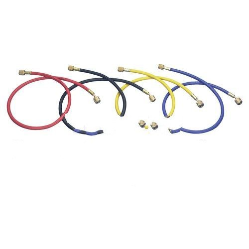 Mastercool MSC-45723 72 in. R12 Red Hose With Auto Shut -Off Valves by MASTERCOOL