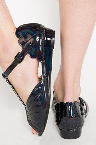 Iron Fist - Sandalias de vestir de Material Sintético para mujer negro