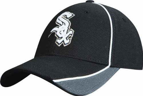 Chicago White Sox Black Wool (MLB Chicago White Sox Authentic Batting Practice Cap, Black/Gray, Medium/Large)