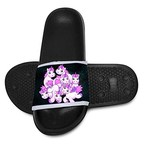 A-TOP SHOES Royalty Free Cliparts Slippers Children Family Shower Slide Anti-Slip Bath Black