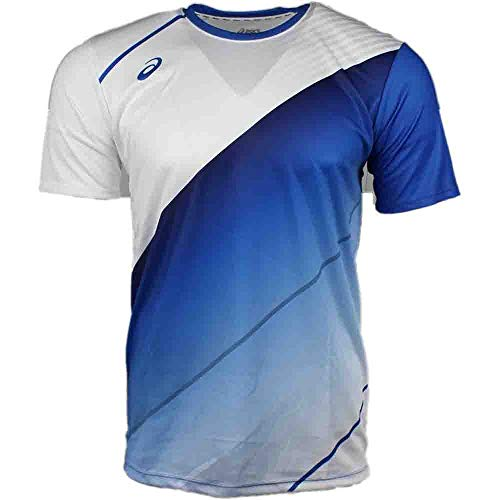 ASICS Mens Tm Matchplay Jersey, Royal/White, ()