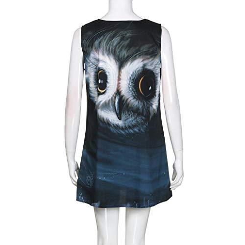 UONQD 2019d Women Chiffon Blouse V Neck Short Sleeve Top Shirts(Small,e1-Black) by UONQD (Image #5)