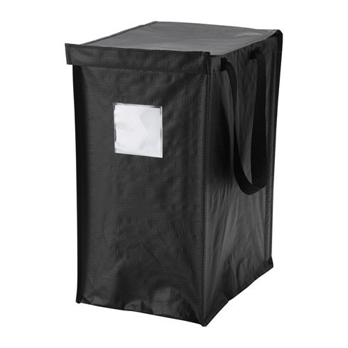 Recycle Collapsible Storage Bin or Bag with Lid.