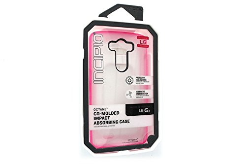 LG G3 Case, Incipio [Co-Molded Case][Shock Absorbing] Octane Case for LG G3-Pink
