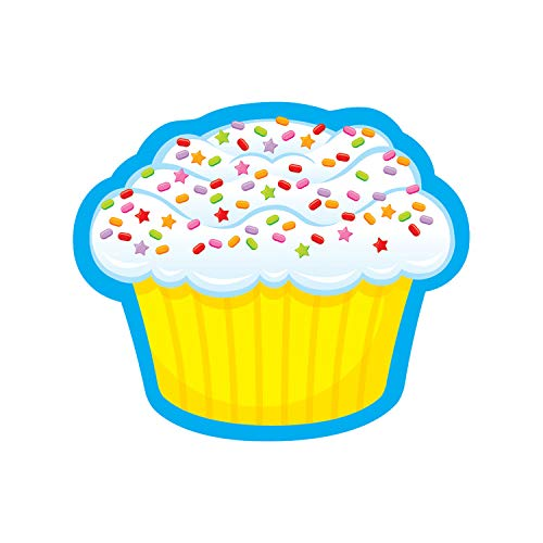 TREND enterprises, Inc. Confetti Cupcake Mini Accents, 36 ct