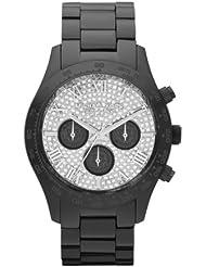 Michael Kors Black Layton Chronograph Glitz Watch