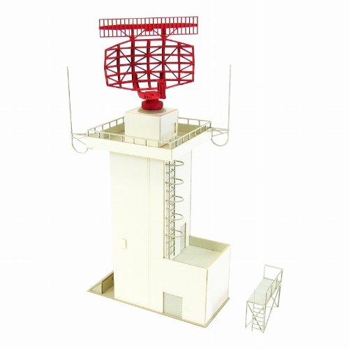 Model Train N-Scale - [Miniatuart] Aviation Scene Series : ATC radar tower (Unassembled Kit) (Model Train)