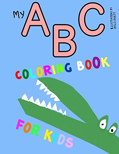My ABC Coloring Book for Kids (A to Z)