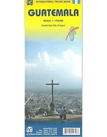Guatemala 1:470,000 Travel Map (International Travel Country Maps: Guatemala)
